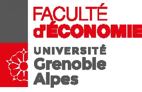 Faculté d'Economie Grenoble