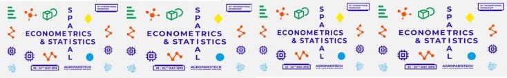 Bandeau Workshop on Spatial Econometrics and Statistics